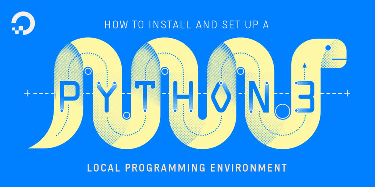 how to install python 3 on windows 10 digitalocean
