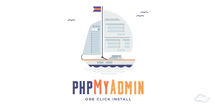 How to use the PHPMyAdmin One-Click Application Image
